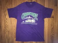 Canadian Wildlife T Shirt Vintage Manitouwadge Ontario Preowned 80s 90s