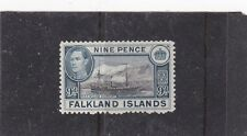 FALKLAND ISLANDS 1938 R.R.S.WILLIAM SCORESBY {SHIP} SG.157 LIGHTLY MOUNTED MINT