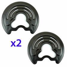 RENAULT TRAFIC OPEL VIVARO 01-14 Disc Brake Backing Plates REAR LEFT & RIGHT X 2