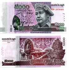 *Newly Released 25-10-17* 1 x UNC Cambodia Cambodge Khmer Kampuchea 5000 Riel