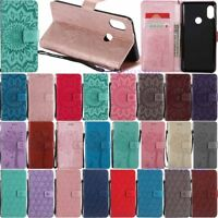 For Xiaomi Redmi Note 4X 5 6 7 8 Pro Card Holder Wallet Flip Leather Case Cover
