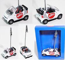 Siku Super 1042 smart fortwo cabrio passion (Typ A 450) Zettelhalter, Werbebox