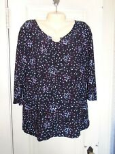 Womans Dressy Top by Croft & Barrow Size Large With Tags