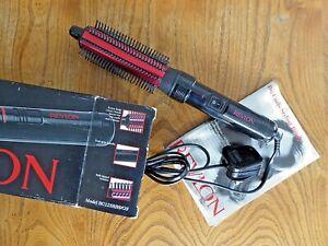 Revlon 'Big Curls' Styling Brush, Model BC125RBS/GS. In original Box.