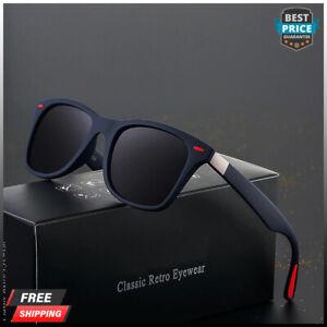 Square Polarized Sunglasses Men Driving Sun Glasses For Male Hot Fashion UV400