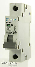 Europa componentes-eub1 - 6a Tipo B Unipolar Mcb Usado