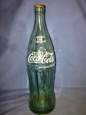 Coke Coca-Cola 26FLOZ large Glass Bottle