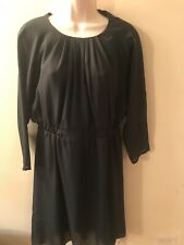 Eve Gravel Dark Green Dress Size M