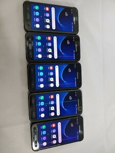 LOT of 5 Samsung Galaxy S7 Active G891A GSM Unlocked Smartphone Assorted  #924