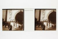 Venezia Italia Foto Placca Da Lente Stereo Vintage #5