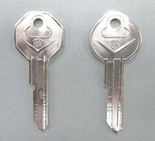 "Rare Cadillac NOS ""V"" Nickel Crest Keys Original Caddy Fits 1936 - 1966"