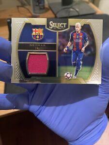 2016-17 Panini Select Neymar Jr Memorabilia Swatch Jersey Card FC Barcelona PSG