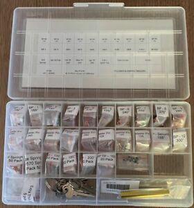 MEGAPRO Lock Pinning Rekey Kit - Lockwood - Locksport - Bottom Master Top Pins