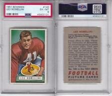 1951 Bowman Football Card # 140 Leo Nomellini Graded PSA 6 EX-MT !