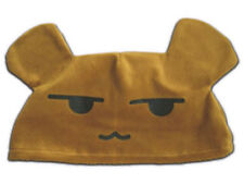 Ouran High School Host Club Cosplay Costume Accessory Brown Bear short Plush Hat