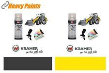 Kramer Loading Shovel Yellow & Dark Grey Paint Enamel Paint 400ml Aerosols