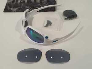 Oakley Split Jacket occhiale da sole Custom Anno 2010 EX Jawbone; Racing Jacket