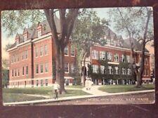 Morse High School, Bath, ME - 1915