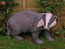 More details for life size badger. stunning home & garden ornament. very realistic. vivid arts.