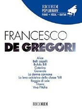 Francesco de Gregori Aa.vv. Ricordi 2013 Pop Library