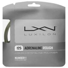 Luxilon Adrenaline Rough 16L Tennis String (Platinum) Authorized Dealer