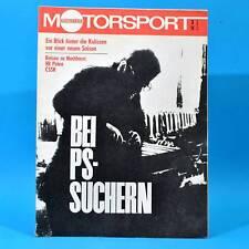 DDR Illustrierter Motorsport IMS 3 1972 MZ Simson Puch MC 125 175 Monte Carlo C