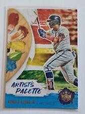 """2020 Diamond Kings Ronald Acuna Jr """"Artist's Palette"""" insert card Braves!"""