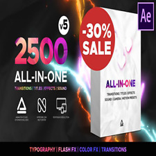 AFTER EFFECTS 2020 PROFESSIONAL 2500 + ALL IN ONE