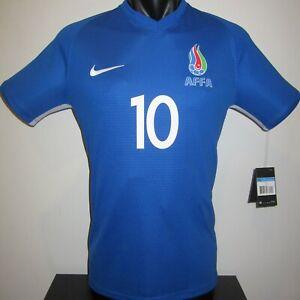 Azerbaijan National Team EMRELI #10 Nike Home Football Shirt Jersey Soccer L