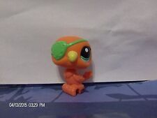Littlest Pet Shop Orange Parrot with Green Eye Patch #2599