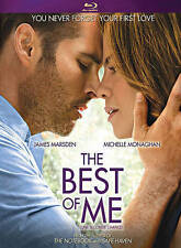 The Best of Me (Blu-ray Disc, 2015, Tears of Joy Edition) NEW James Marsden