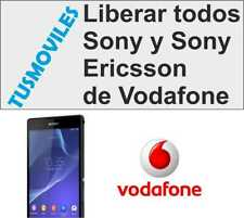 Liberar SONY XPERIA Z Z3 Z1 L M P U S E ARC S VODAFONE TIPO TABLET AINO W T S