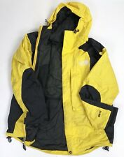 The North Face Gore-Tex Vintage Mountain Ski Jacket Men's Medium Yellow Winter