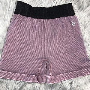 Free People Movement Prajna Mauve Seamless Active Shorts Size M/L