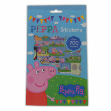 700 Peppa Pig Stickers - George Mummy Daddy Childrens Favourite Party Bags