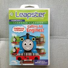 Leap Frog Leapster Learning Game Thomas & Friends Calling All Engines