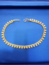 in solid gold 22k Yellow Gold anklet