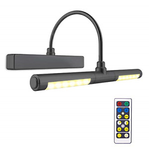 BIGLIGHT Picture Light with Remote Control,Wireless Battery Operated LED Wall 3