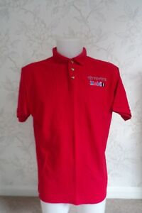 WRC TOYOTA MOBIL 1 RALLY TEAM ISSUE POLO SHIRT MENS LARGE - LAST ONE IN STOCK