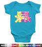 Care Bears Cheer Funshine Best Friend Bear Infant Baby Girl Rib Bodysuit Clothes