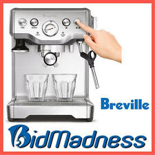 BREVILLE BES840BSS INFUSER 15 BAR ESPRESSO COFFEE MACHINE  RRP $699  LTD STOCK