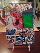 X-MEN #25 ANNIVERSAY ISSUE. HOLOGRAM WRAP AROUND ISSUE CGC? 1993