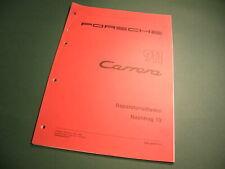 Porsche 911 Carrera Turbo  Speedster - Reparatur-Leitfaden Nachtrag 13 Handbuch