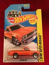 2014 Hot Wheels: Datsun 620  139/250. BDC74 Orange. (137)