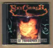 SKY CHURCH - Urge Of The Human Device CD rare Metal New Skychurch PHILIPPINES