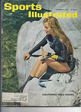 1962 Sports Illustrated Magazine November 5th Mary Anderson Jacques Plante