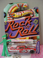2012 Walmart Jukebox #10 '57 CADILLAC ELDORADO BROUGHAM∞Red∞Rock Roll∞Hot Wheels
