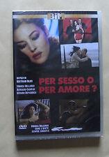 Per sesso o pre amore? - Monica Bellucci DVD nuovo sigillato