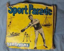 16mm Castle Films Big Fish Sports Parade #306