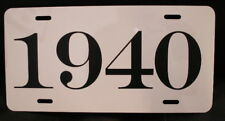 1940 YEAR LICENSE PLATE FITS CHEVY FORD CHRYSLER BUICK PACKARD DODGE DESOTO NASH